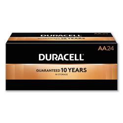 Duracell CopperTop Alkaline AA Batteries, 24/Box