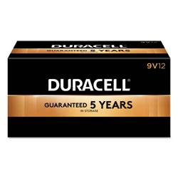 Duracell CopperTop Alkaline 9V Batteries, 12/Box