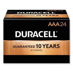 Duracell CopperTop Alkaline AAA Batteries, 24/Box