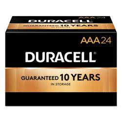 Duracell CopperTop Alkaline AAA Batteries, 144/Carton