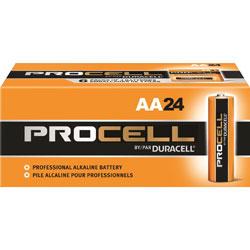 Duracell PC1500BKD Procell Alkaline Battery, AA