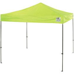 Ergodyne Tent, Pop-Up Canopy, 10'Wx10'Lx14'H, Lime