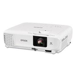 Epson PowerLite X49 3LCD XGA Classroom Projector, 3,600 lm, 1024 x 768 Pixels, 1.2x Zoom