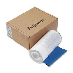 Fellowes Shredder Waste Bags, 9 gal Capacity, 100/Carton
