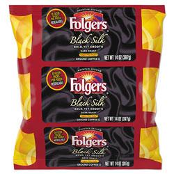 Folgers Coffee Filter Packs, Black Silk, 1.4 oz Pack, 40Packs/Carton