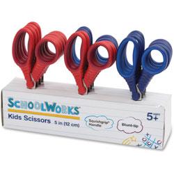 Fiskars Kids Scissors Classpack, 5 in, 12/ST, Assorted
