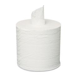 GEN Centerpull Towels, 2-Ply, White, 600 Roll, 6 Rolls/Carton
