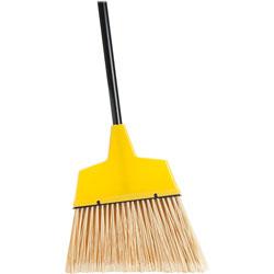 Genuine Joe 09570 Manual Broom, 12 in W, Yellow