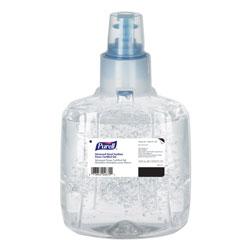Purell Advanced Hand Sanitizer Green Certified Gel Refill, 1200 ml, Fragrance Free, 2/Carton