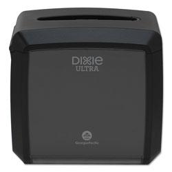 Dixie Tabletop Napkin Dispenser, 7.6 in x 6.1 in x 7.2 in, Black