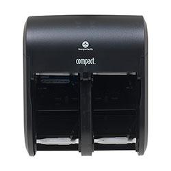 Compact® Quad Vertical Four Roll Coreless Tissue Dispenser, 11.75 x 13.25