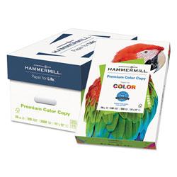 Hammermill Premium Color Copy Print Paper, 100 Bright, 28lb, 11 x 17, Photo White, 500/Ream