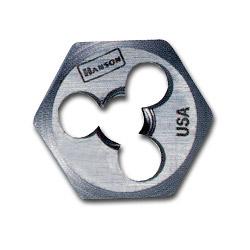 "Hanson High Carbon Steel Hexagon 1 7/16"" Across Flat Die 16 mm 2.00"