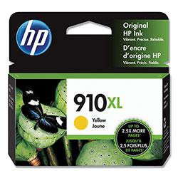 HP 910XL, (3YL64AN) High Yield Yellow Original Ink Cartridge