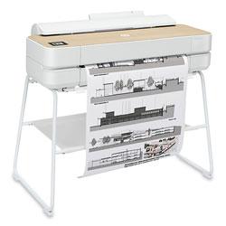 HP DesignJet Studio 24 in Wood Large-Format Wireless Plotter Printer