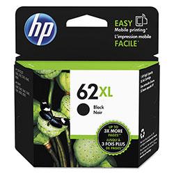 HP 62XL, (C2P05AN) High Yield Black Original Ink Cartridge