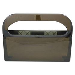 Hospeco Health Gards Toilet Seat Cover Dispenser, Smoke, 16wx3-1/4dx11-1/2h