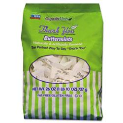 Hospitality Mints Thank You Buttermints Candies, 26 oz Bag