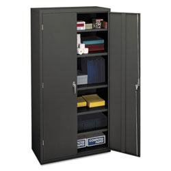 Hon Assembled Storage Cabinet, 36w x 18 1/8d x 71 3/4h, Charcoal