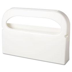 Hospeco Health Gards Seat Cover Dispenser, 1/2-Fold, White, 16x3.25x11.5, 2/Bx