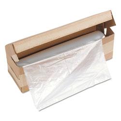 HSM Shredder Bags, 58 gal Capacity, 100 Bags/Roll, 1/Roll