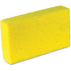 Impact Cellulose Sponge,1.7 in x 4 in x 7.6 in,Bio, 4PK/CT, Yellow
