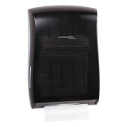 Kimberly-Clark Universal Towel Dispenser, 13 31/100w x 5 17/20d x 18 17/20h, Smoke/Gray