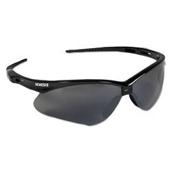 KleenGuard* V30 Nemesis Safety Glasses, Black Frame, Smoke Lens