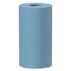 WypAll* X60 Cloths, Small Roll, 19 3/5 x 13 2/5, Blue, 130/RL, 6 RL/CT