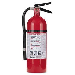 Kidde Safety Pro 210 Fire Extinguisher, 4lb, 2-A, 10-B:C