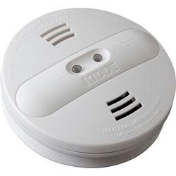 Kidde Safety Smoke Alarm, Photo/Ion, Dual Sensor, Batt Opr, White