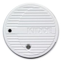 Kidde Safety Smoke Alarm, Flashing LED, 9V Battery Included, white