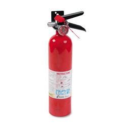 Kidde Safety ProLine Pro 2.5 MP Fire Extinguisher, 1 A, 10 B:C, 100psi, 15h x 3.25 dia, 2.6lb