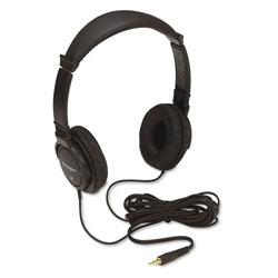 Kensington Hi-Fi Headphones, Plush Sealed Earpads, Black