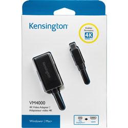 Kensington Mini Display Port To HDMI 4K Adapter, Black
