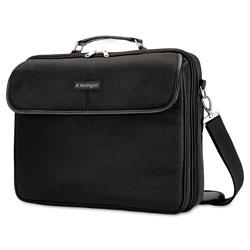 Kensington Simply Portable 30 Laptop Case, 15 3/4 x 3 x 13 1/2, Black