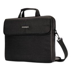 Kensington 17 in Simply Portable Padded Laptop Sleeve, Interior/Exterior Pockets, Black