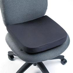 Kensington Memory Foam Seat Rest, 13.5w x 14.5d x 2h, Black