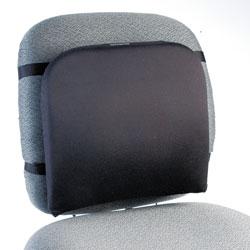 Kensington Memory Foam Backrest, 16w x 12d x 16h, Black