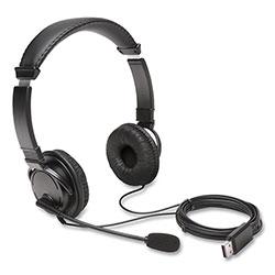 Kensington Hi-Fi Headphones with Microphone, Black