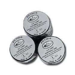 "K Tool International 3/4"" x 60ft Roll Electrical Black Tape 10/Sleeve"