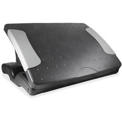 Kantek Deluxe Adjustable Footrest, Black
