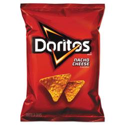Doritos Nacho Cheese Tortilla Chips, 1.75 oz Bag, 64/Carton