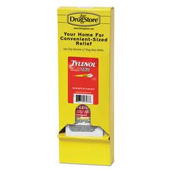 Lil Drugstore Acetaminophen, 500mg, Extra Strength Caplets, Refill, 2 /Packet, 30 Packs/Box