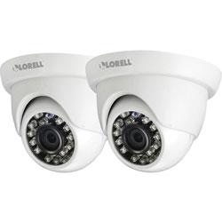 Lorell 5 Megapixel Surveillance Camera, 2 Pack, Dome