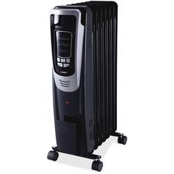 Lorell LED Display Radiator Heater, Black