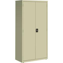 Lorell Storage Cabinet, 36 inx18 inx72 in, Putty