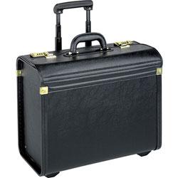 Lorell Rolling Laptop Catalog Case, 22 in W, Black