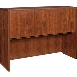 Lorell Hutch w/Doors, 48 inx36 inx15 in, Cherry