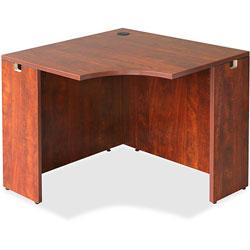 Lorell Corner Desk, 36 in x 42 in x 29-1/2 in, Cherry